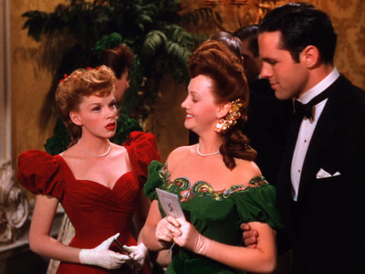 Screen Style Judy Garland In Meet Me In St Louis Gidget Hearts