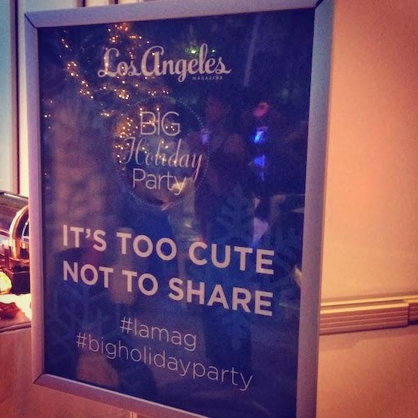LA Mag  Big Holiday Party