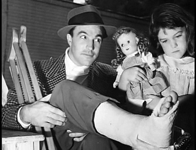 Gene Kelly Broken Foot