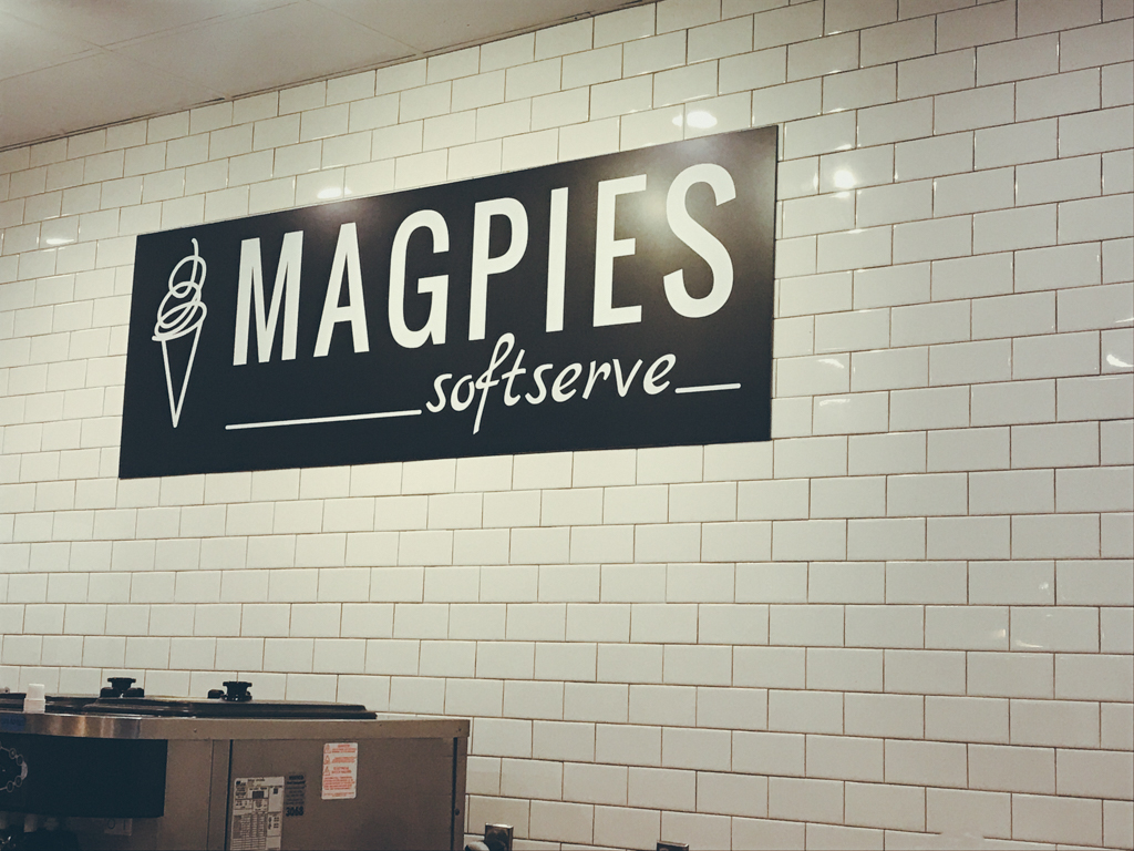 magpies soft serve